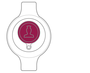 Wearable Call Point - Front view
