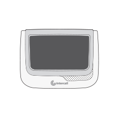 Touch Display - Front view